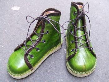 Trippen chaussures à lacets col Kiwi