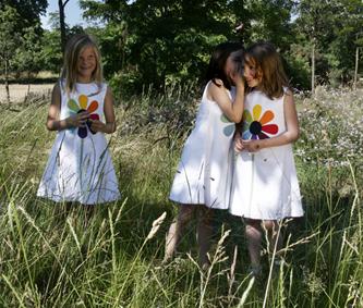 Robes marguerites
