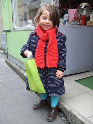 Louise en manteau Loppa