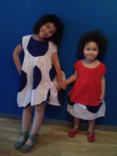 Lilou et Naomie en BLEU