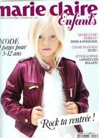 Marie Claire enfant 3 couverture