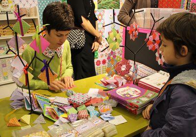 Fifi mandirac pliage origami Katherina
