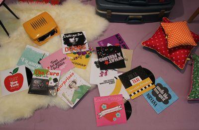 Fifi mandirac pochettes disques retravaillées
