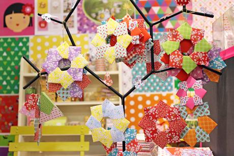 Origami étoile fifi mandirac