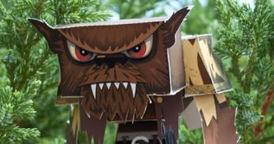Blog_Paper_Toy_papertoy_Red_Eyed_Wolfman_Bratliff