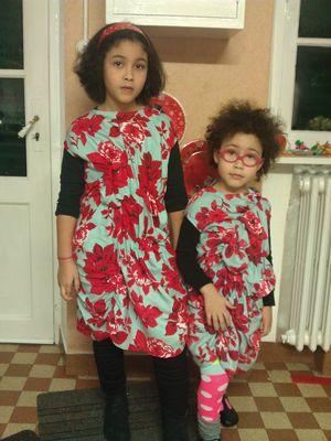 Naomie et Lilou