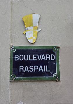 Boulevard Raspail fev 2012