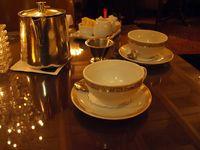 Thé au bristol à Oslo