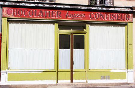 Façade boutique rue trousseau Paris
