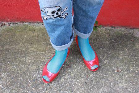 Pèpè chaussures vernis rouge