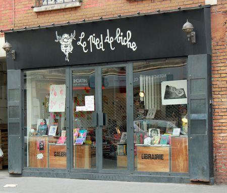Le pied de biche librairie galerie
