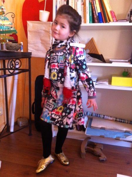 Lili robe graffitis louis louis