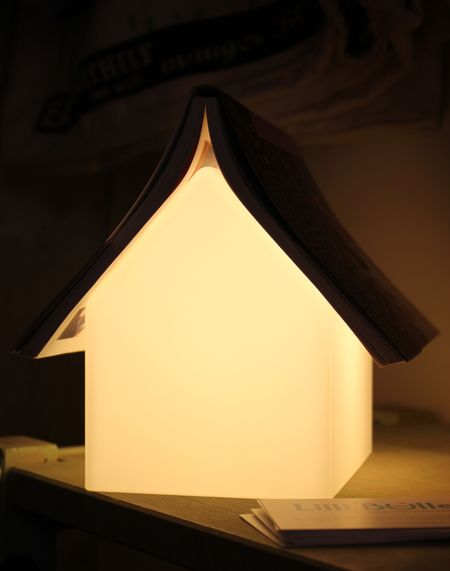 Lampe maison lilli bulle