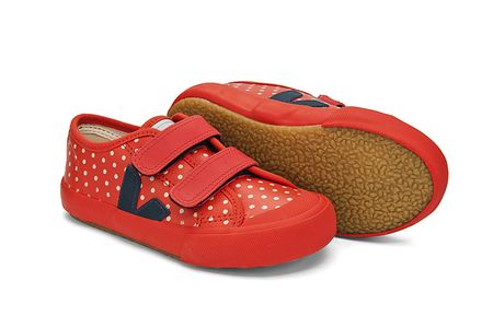 VEJA_GURIS VELCRO_LEATHER_BLOOD SPOTS NAUTICO_LATERAL SOLA
