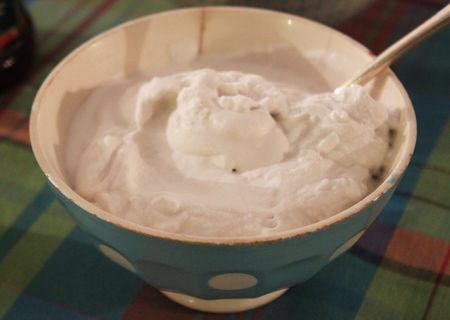 Chantilly crème de coco