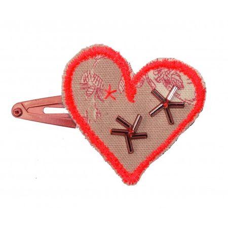 Barrette-a-clip-coeur-rose-fluo-gabrielle-aznar-