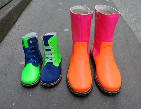 Chat Méchant Chaussures et boots fluo lilli bulle