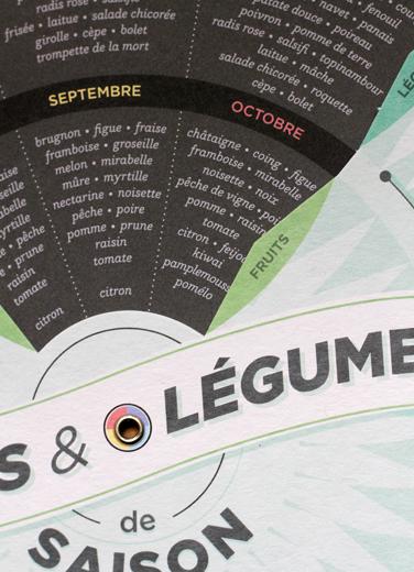 Papier tigre calendrier en français