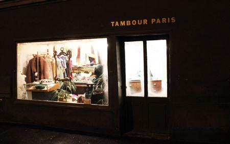 Tambour Paris rue trousseau 75011 paris