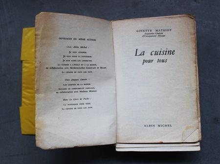 Livre de cuisine la cuisine pour tous
