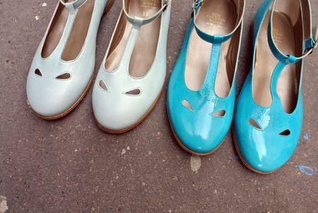 Salomé bleu et turquoise pépé