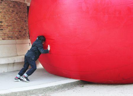 Nils pousse la redball