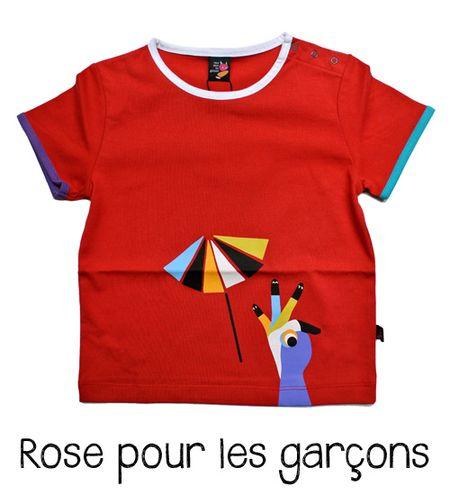 Rose pour les garçons