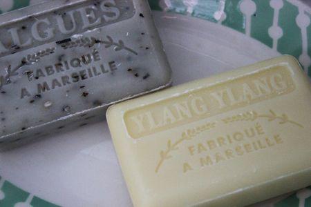 Savonettes fabriquées à Marseille savon