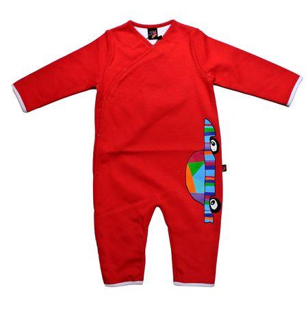 Pyjama rouge rose pour les garçons
