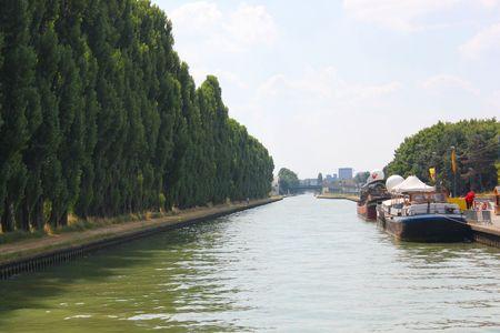 Canal de l'ourcq Bobigny