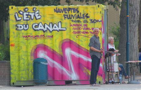 L'été du Canal Pantin