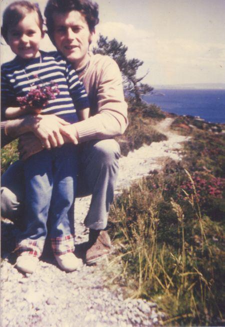 Christine et son papa