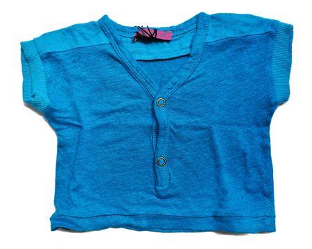 T-shirt turquoise le toit de la lune