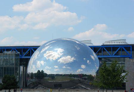 La géode parc de la villette Paris