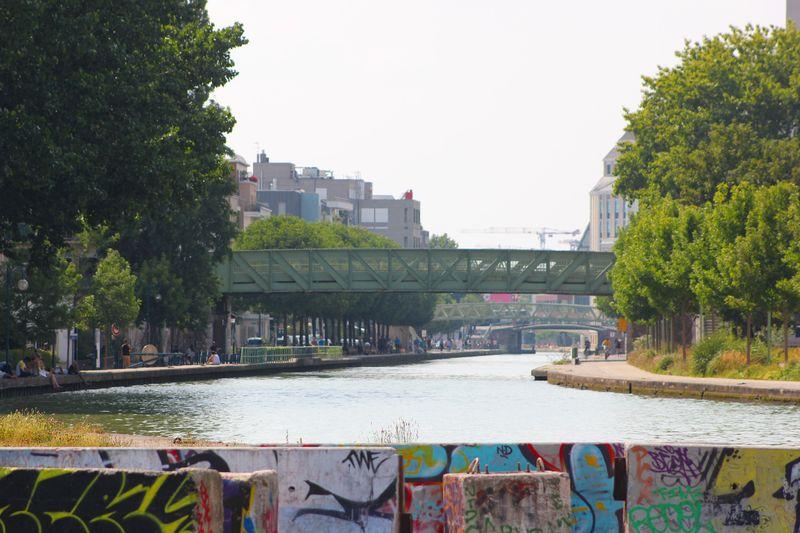 Canal de l'ourcq pantin