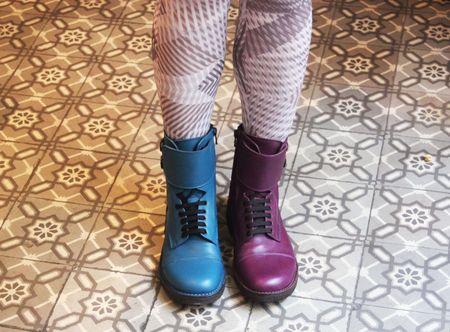Pèpè boots couleurs lilli bulle