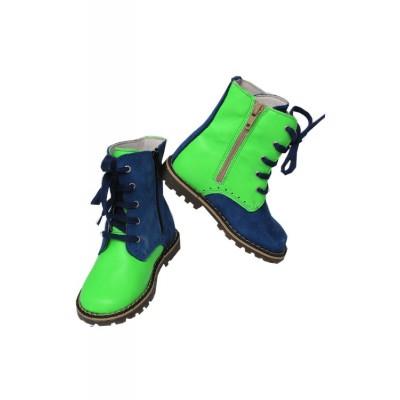 Chaussures-montantes-bicolores-fluo-chat-mechant-lilli-bulle