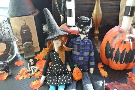 Gabrielle Aznar fête Halloween