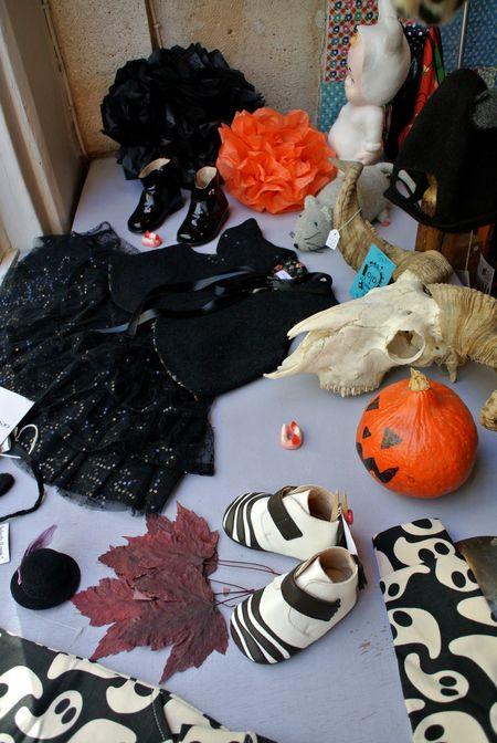 Vitrine Halloween 2013 lilli bulle par Gabrielle Aznar 9