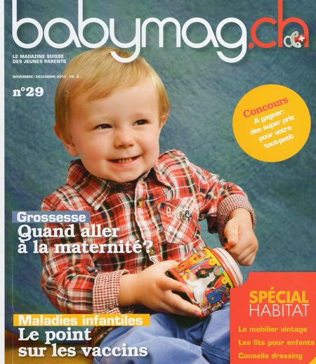 Babymag.ch couv
