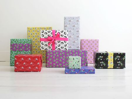 Fifi mandirac papiers cadeaux jolis motifs