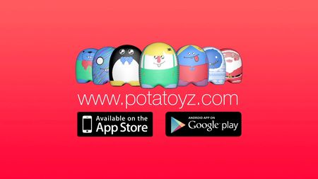 Potatoyz le premier jouet digital sur tablette