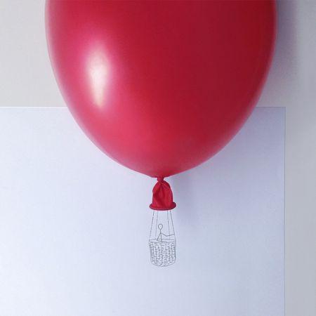 Norman Mente Voyage en Ballon