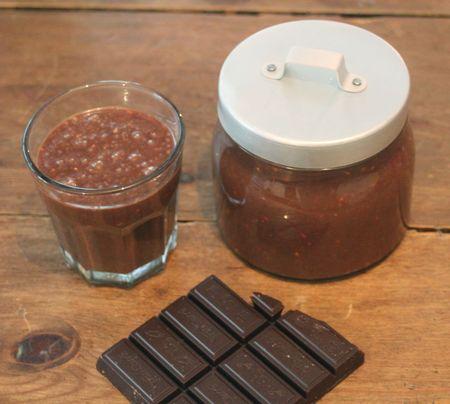 Cuisiner Pâte à tartiner au chocolat fait maison