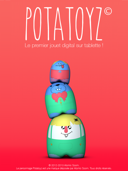 Potatoyz le premier jouet digital sur tablette 2