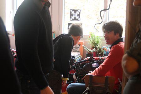 Nils avec Benjamin le caméraman