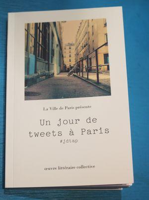 Livre un jour de tweet à Paris lilli bulle inside