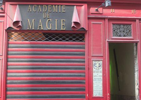 L'académie de Magie paris