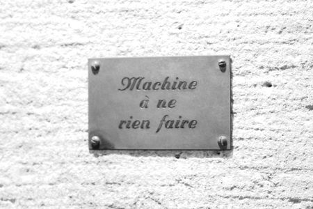 Musée de la magie Machine à ne rien faire 2