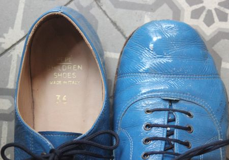 Pèpè children shoes made in italy lilli bulle